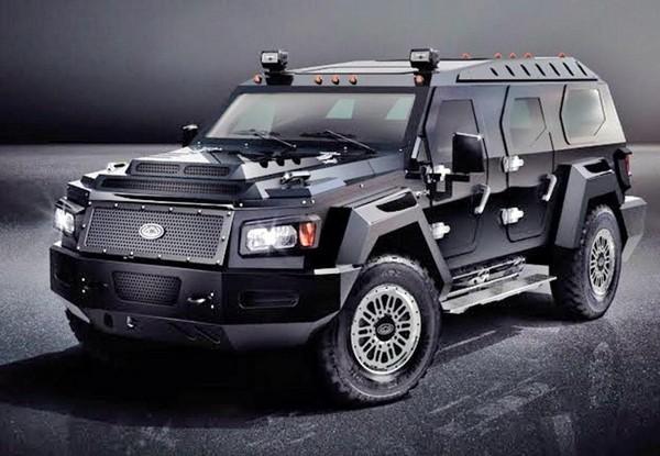 Knight XV – самый большой в мире внедорожник. Источник фото: automobile-adventure-india.blogspot.com