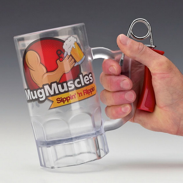 MugMuscles: пивная кружка-тренажер.