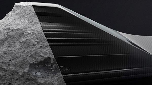 The ONYX: софа от Peugeot Design Lab.