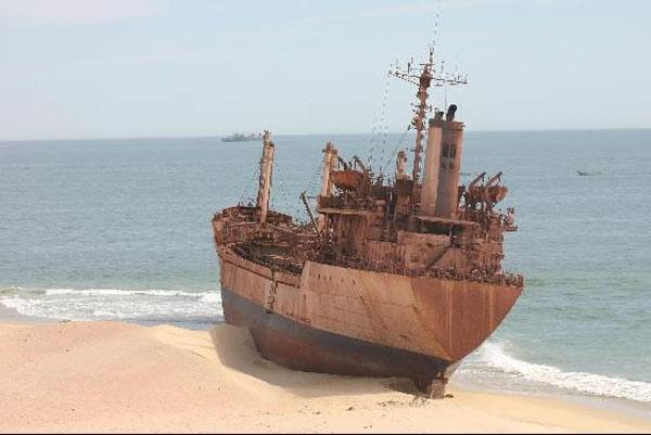 Кладбище кораблей, Нуадибу, Мавритания