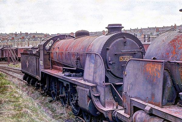 Кладбище поездов, Барри, Великобритания