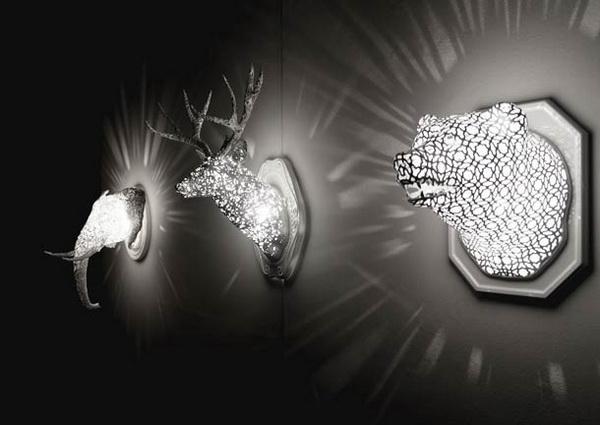 Коллекция светильников Animal Lace.
