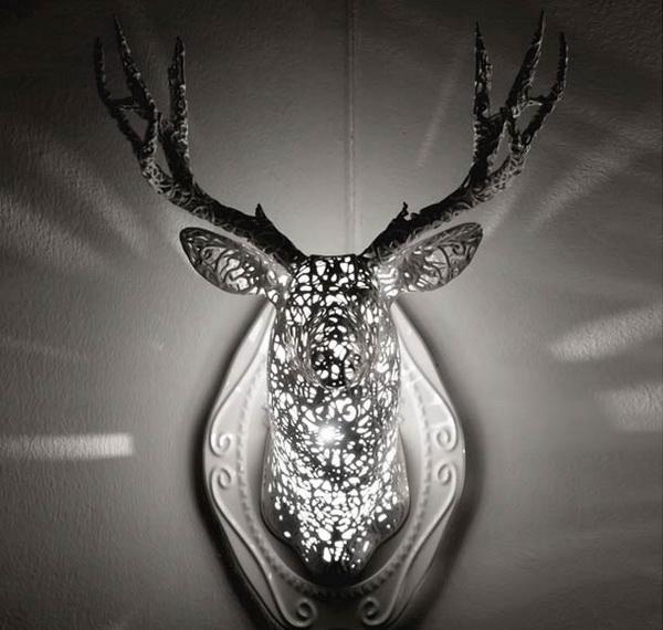 Оригинальные светильники Animal Lace.