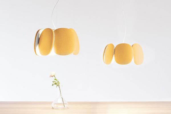 Светильники в форме цветка от Mario Alessiani.