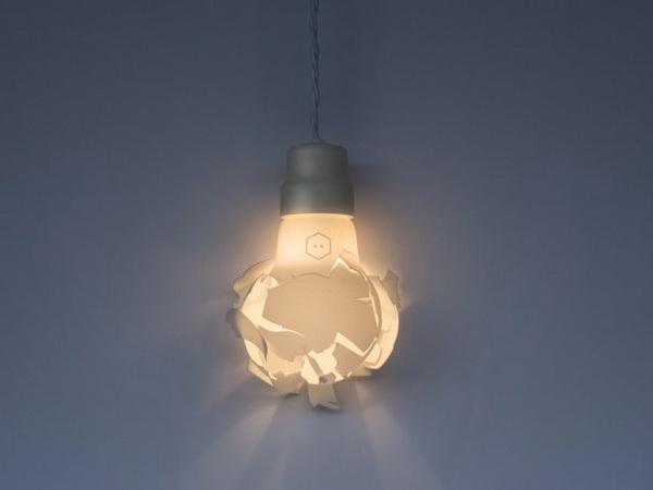 Лампа из коллекции Breaking Bulbs.
