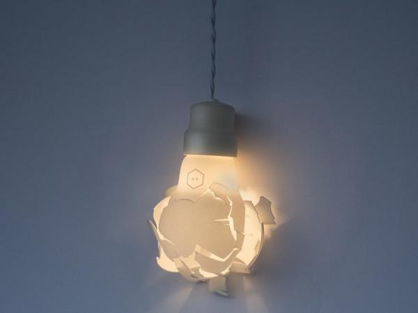 Коллекция ламп Breaking Bulbs.