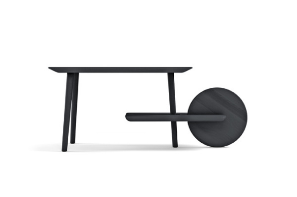Черный вариант Dot table.