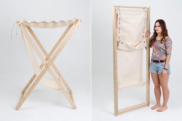 Складное кресло-гамак для поклонников уединения.