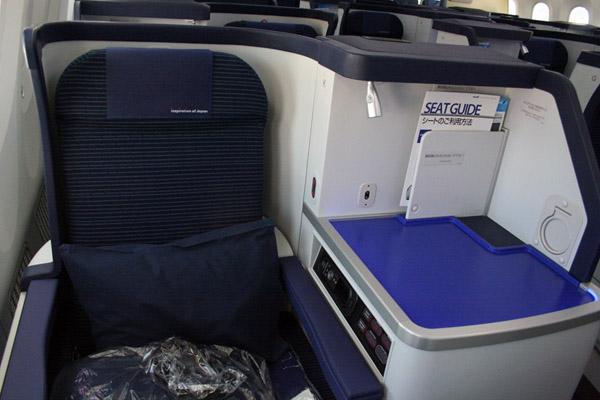 Салон первого класса от All Nippon Airways