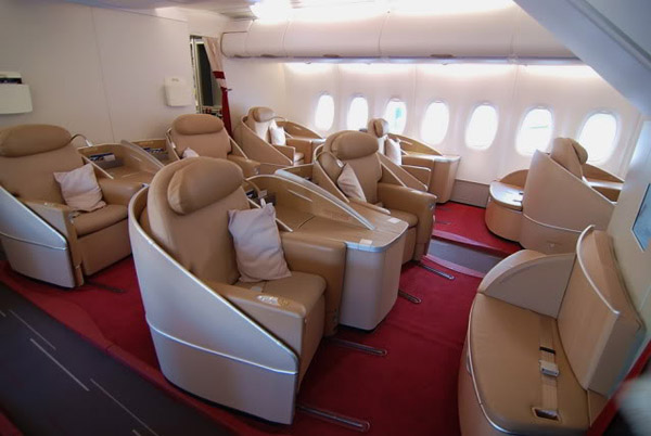 Салон первого класса от Air France