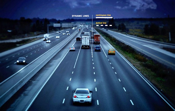 Smart Highway – первая в мире «умная дорога». Источник фото: Studio Roosegaarde
