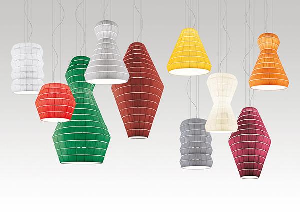 Яркие светильники от Vanessa Vivian.