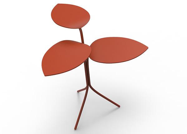 Столики, вдохновенные виноградной лозой.
