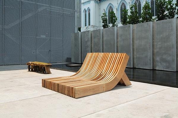 Скамейка People's Bench.