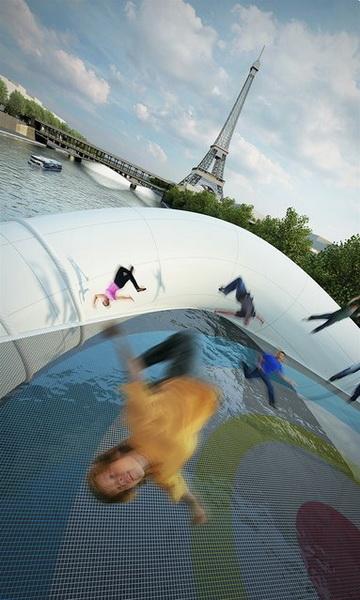 Концепт моста от Atelier Zundel Cristea.