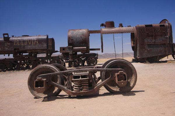 Кладбище поездов, Боливия
