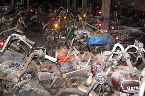 Кладбище мотоциклов, Нью-Йорк, США