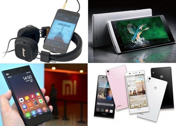 Флагманские модели смартфонов от малоизвестных китайских производителей