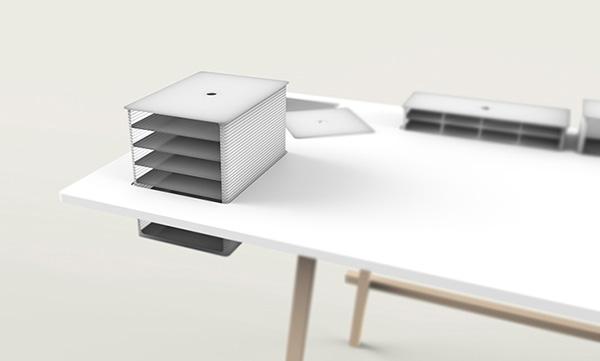 Письменный стол от Tobias Lugmeier.