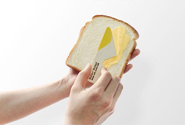 Удобное бутербродное масло. Дизайн Yeongkeun.