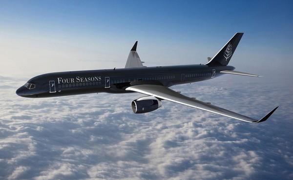 Отель-самолет от Four Seasons. Источник фото: fourseasons.com