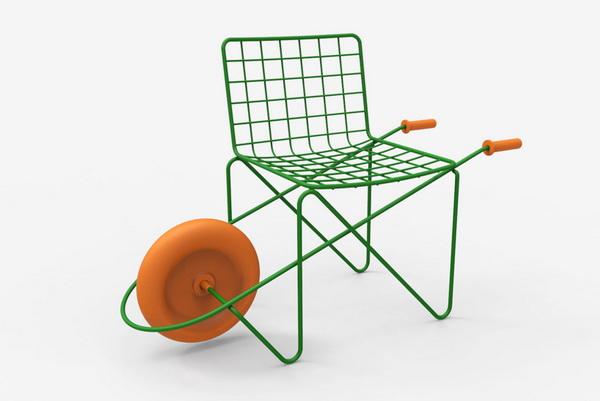Мобильный стул «Trotter».