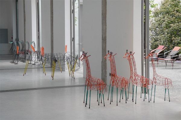 Коллекция Animal House, созданная колумбийскими безработными.