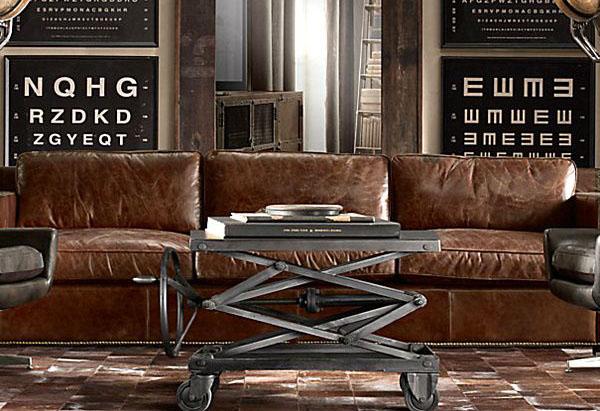 Идеальный столик для индустриального стиля