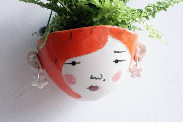 Gigi - маленькое кашпо для домашних растений.