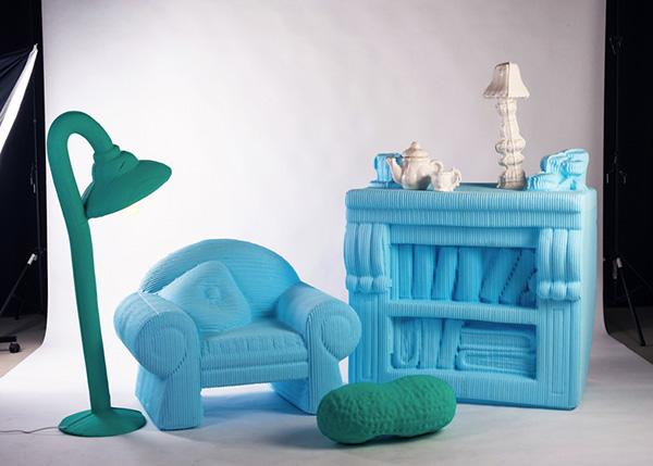 Коллекция кукольной мебели.