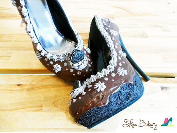Туфли, нагоняющие аппетит: женская обувь в виде кондитерских изделий.