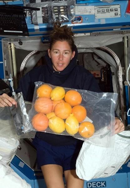 Любовь американских астронавтов к цитрусовым. Источник фото: svezduh.ru