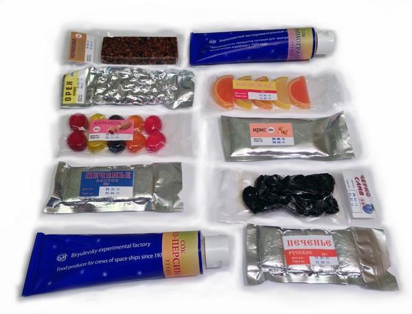 Современная российская космическая еда. Источник фото: vk.com/space_food