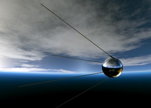 Модель первого искусственного спутника Земли. Источник фото: new.tsniimash.ru