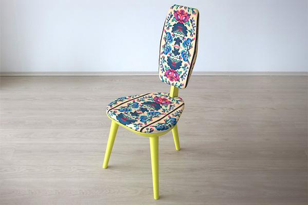 Современный стул, как произведение декоративно-прикладного искусства.