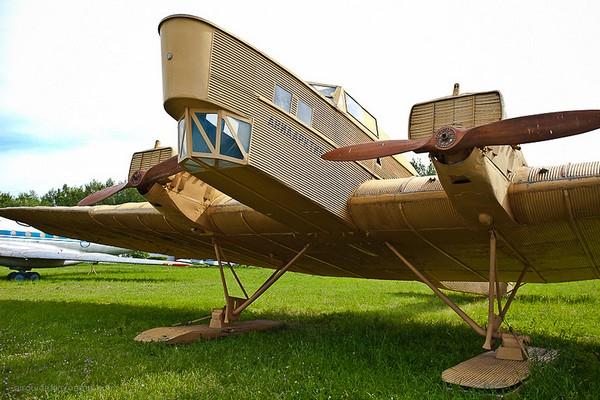 Бомбардировщик АНТ-4, другое название - ТБ-1. Источник фото: airguide.livejournal.com