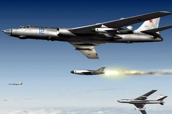 Реактивный бомбардировщик Ту-16. Источник фото: avsim.su