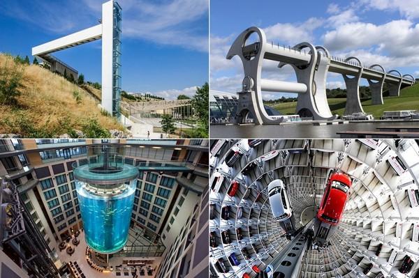 Самые необычные в мире лифты