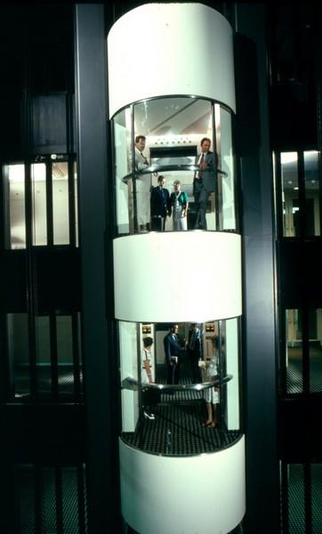 Двухэтажный лифт. Источник фото: koreatimes.co.kr