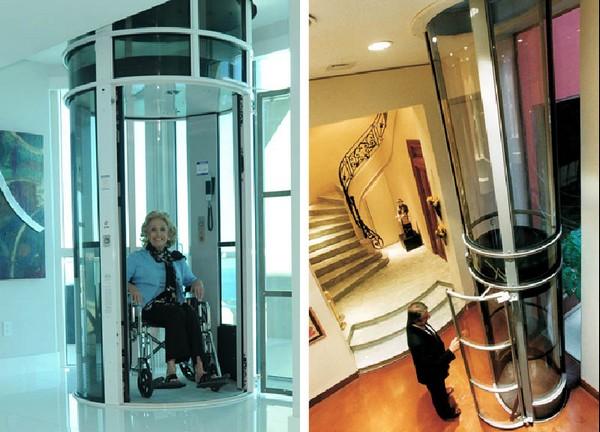 Пневматический вакуумный лифт для дома. Источник фото: hankinspecialty.com
