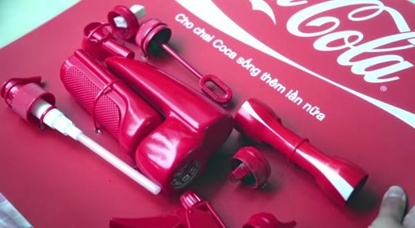 Рекламная компания Coca-Cola.