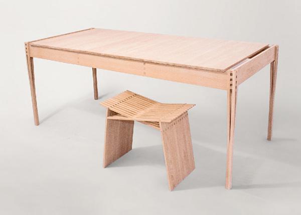 Коллекция эргономичной мебели от Torsten Sherwood.