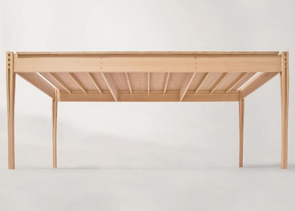 Деревянная мебель, вдохновленная стилем шейкеров.