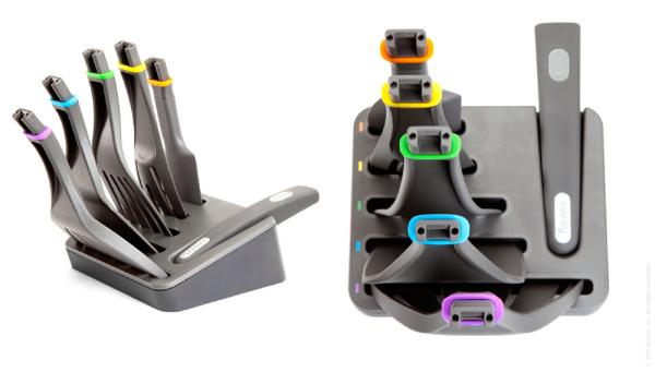 Набор кухонных лопаток Quirky Click n Cook, изобретатель Fred Ende (Brewster, New York