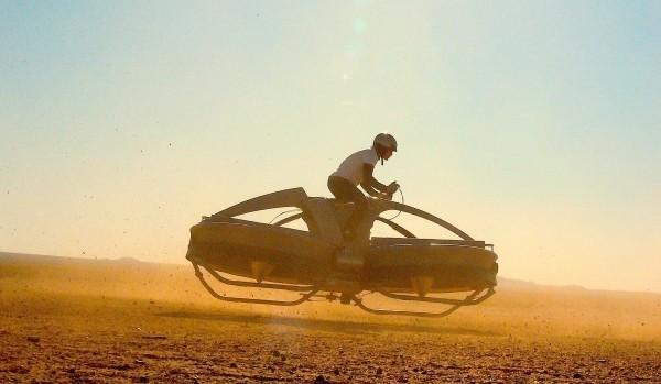 Aero-X – летающий мотоцикл в 2017 году