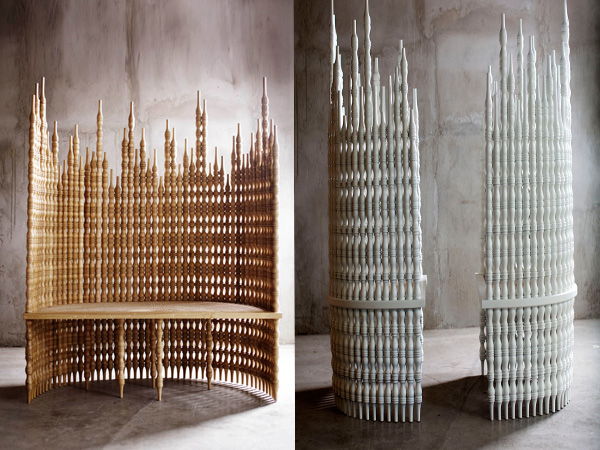 Коллекция мебели, вдохновленная филиппинской архитектурой.