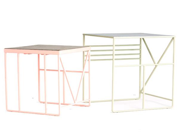 Оригинальные столы для марки Faerid.