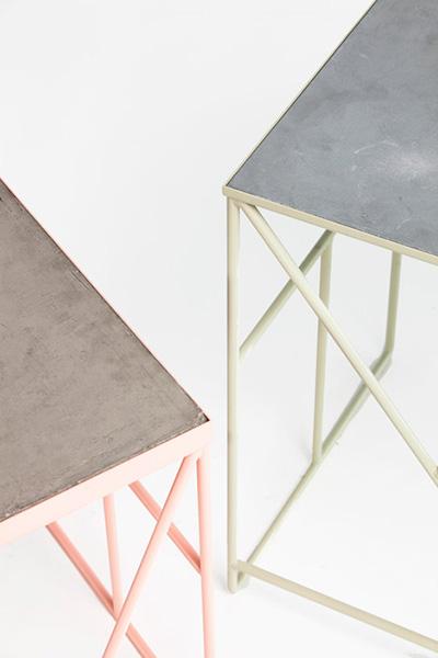 Оригинальные столы в минималистском стиле.