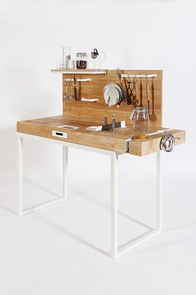 Мини-кухня от Dirk Biotto.
