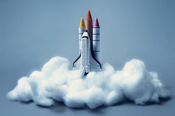 Оригинальная ракета.